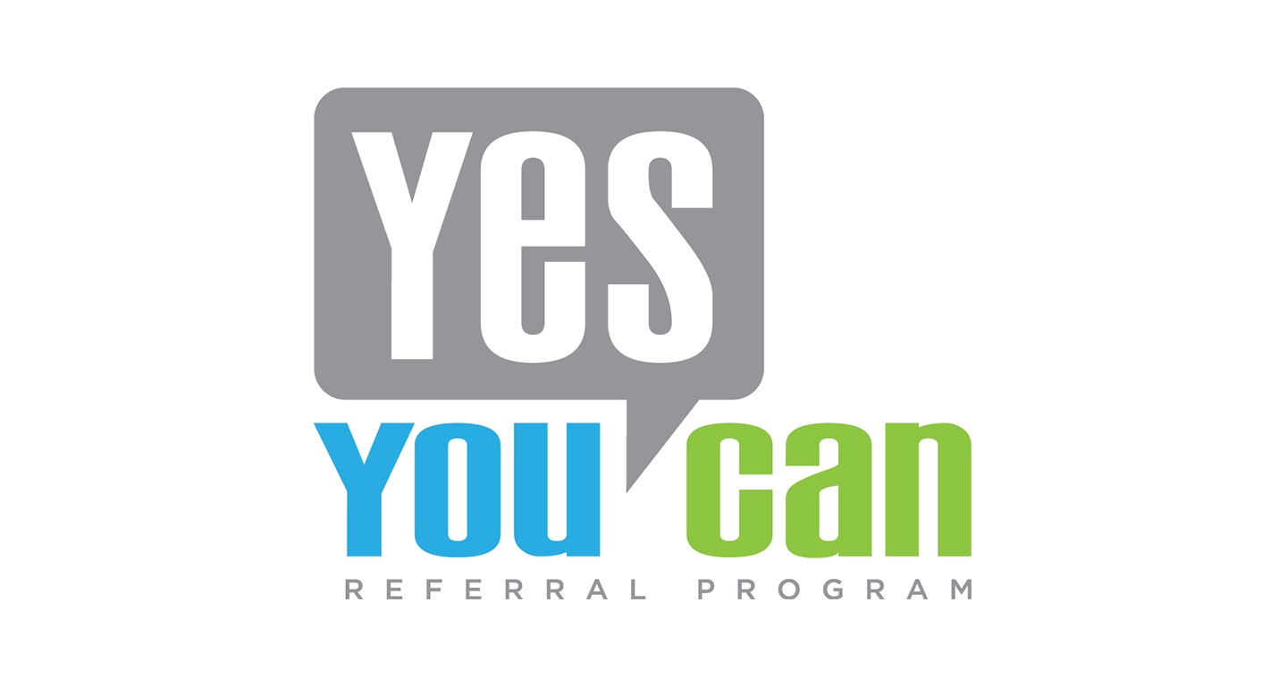 "We developed the materials for the re-branding of the Qwest Communications employee referral program known as ""Yes You Can"". A new name, new logo, and a bold new look is the key to energizing existing employees about the enhanced program for 2009 and beyond."